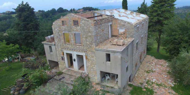 Villa Ficareto - Aerial View
